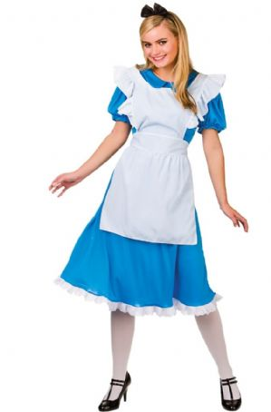 Alice in Wonderland Plus size Costume (EF2164)